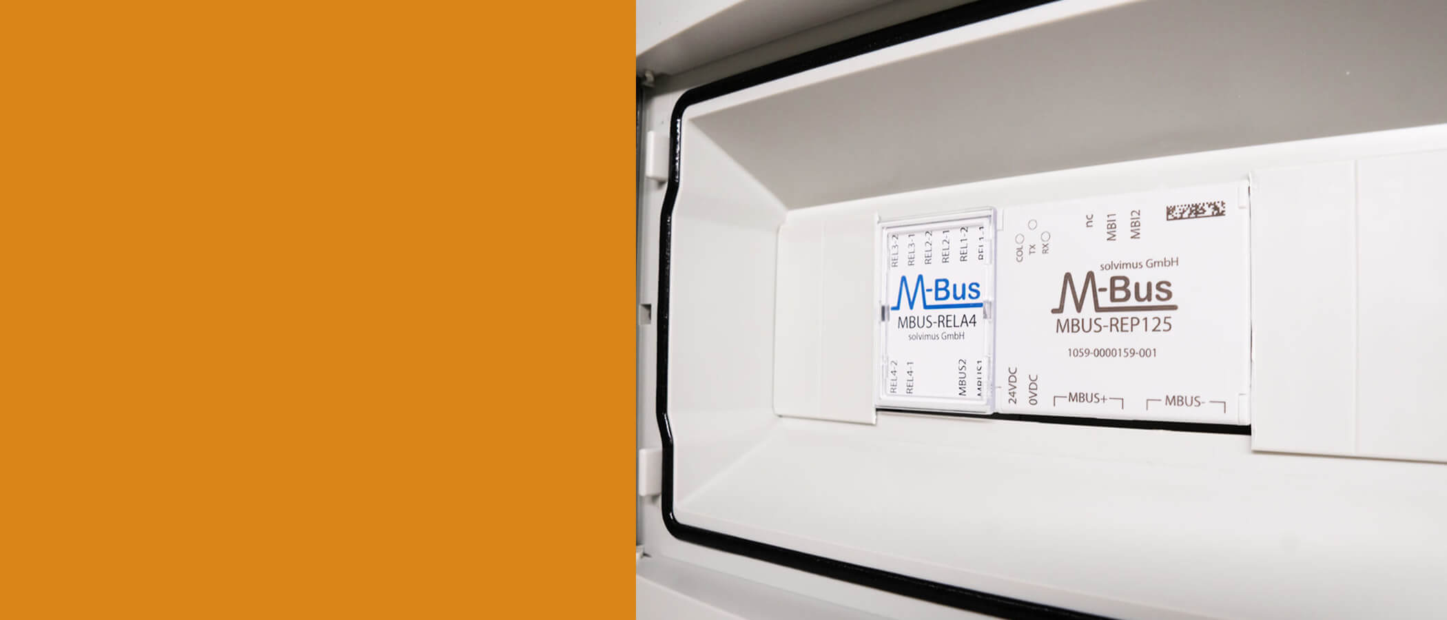 Header M-Bus-RELA4-M-Bus-REP125 solvimus