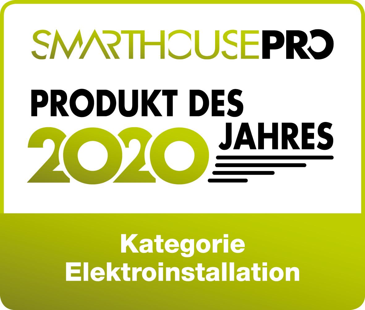 Logo Produkt des Jahres 2020 von Smarthouse Pro
