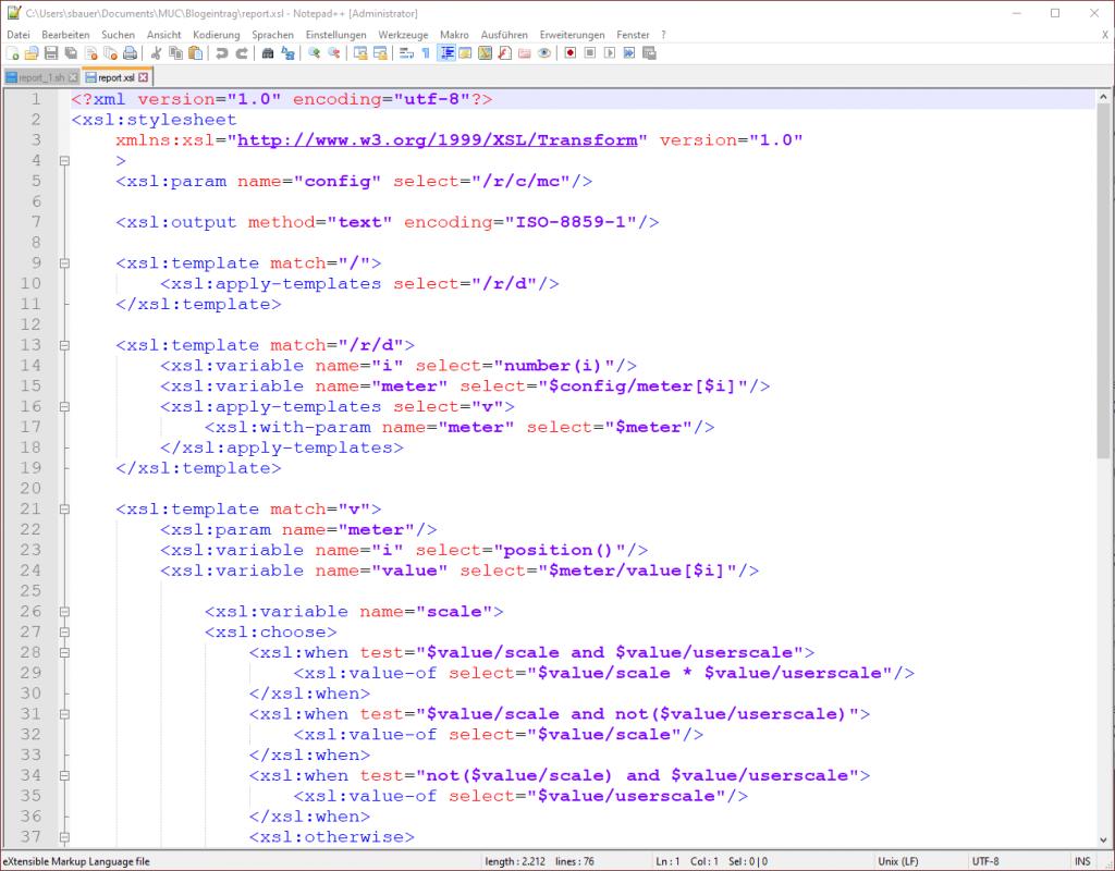 XSLT-Script