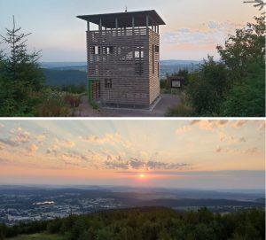 Aussichtsturm auf Lindenberg-Ilmenau